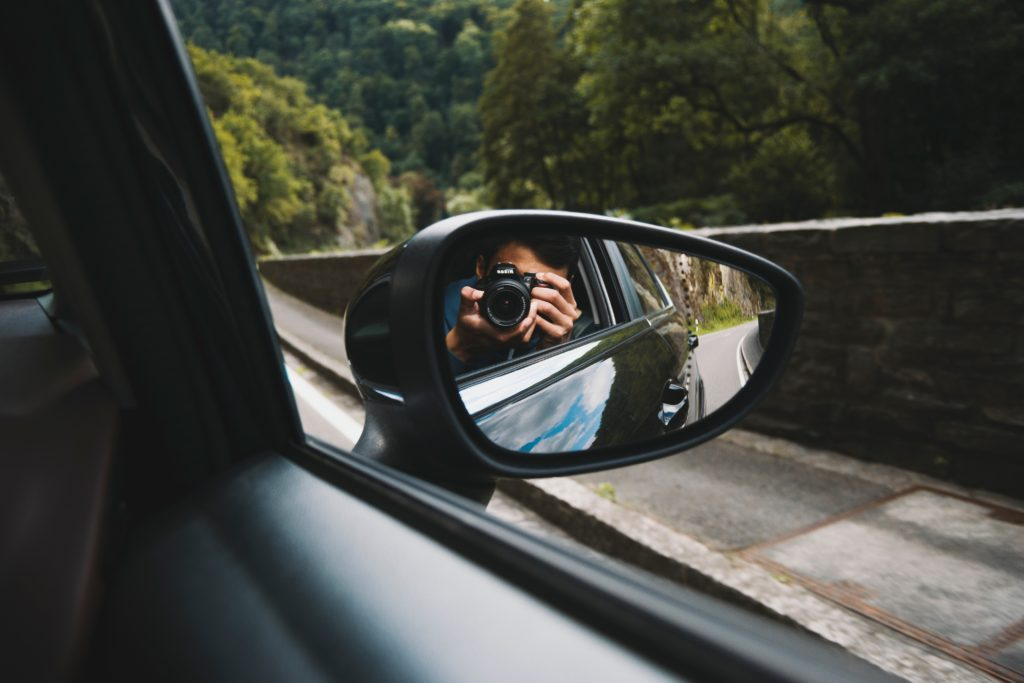 rear view mirror - self-reflection