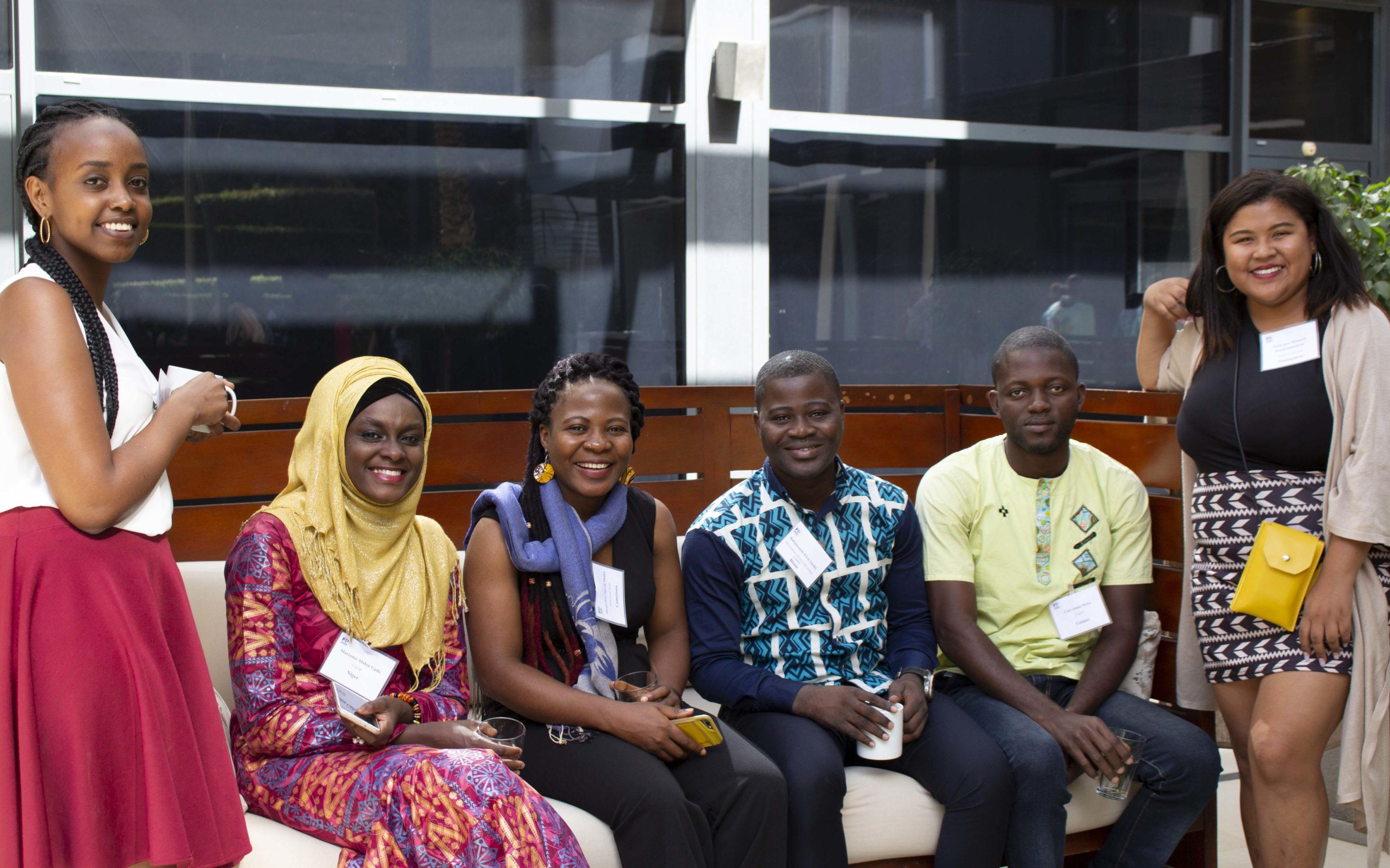 A mentoring journey for 6 francophone youth leaders